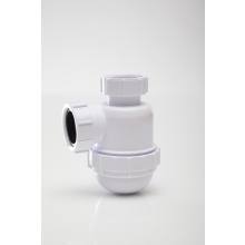 Polypipe 40mm Bottle Trap Seal White 40mm