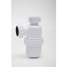 Polypipe 40mm Bottle Trap Seal White 76mm