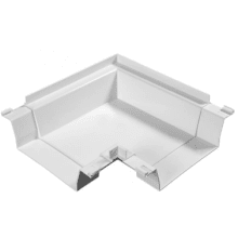 Polypipe 50mm Floor Duct 90° Angle Double Socket White