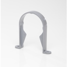 Polypipe Round Downpipe Bracket 68mm Grey
