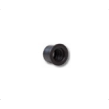 Polypipe ABS Overflow Rubber Reducer Black