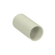 Polypipe ABS Overflow Straight Connector 21.5mm White