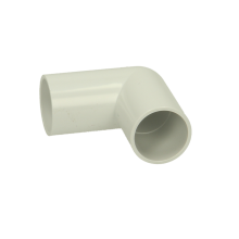 Polypipe ABS Overflow Waste Knuckle Bend 21.5mm x 90 Degrees White