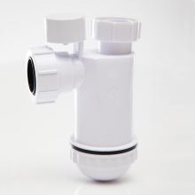 Polypipe Anti Syphon Bottle Trap 75mm Seal White