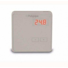Polypipe Battery Boost Thermostat White