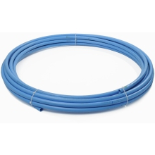 Polypipe Blue MDPE 25mm x 20m Poly Tube
