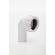 Polypipe Compression Waste Swivel Elbow 32mm x 90 Degrees White