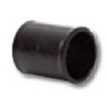Polypipe Solvent Weld Waste MUPVC Straight Coupling 50mm Black