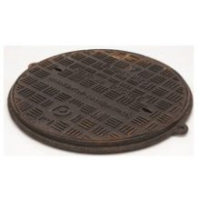 Polypipe Drain Cover/Frame Cast Iron 4""