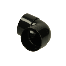 Polypipe Solvent Weld Waste MUPVC Knucklebend 32mm x 90 Degrees Black