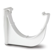 Polypipe Polyflow Gutter Fascia Bracket 117mm White
