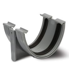 Polypipe Polyflow Union Bracket 117mm Grey