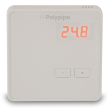Polypipe Premium Boost Thermostat White