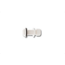 Polypipe Pushfit Overflow Waste Straight Tank Connector 21.5mm White