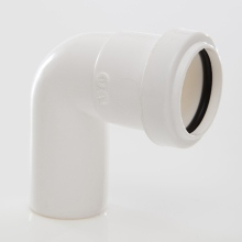 Polypipe Pushfit Waste Swivel Bend 32mm x 91.25 Degrees White