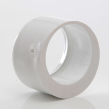 Polypipe Solvent Weld Waste MUPVC Reducer 50mm x 40mm White