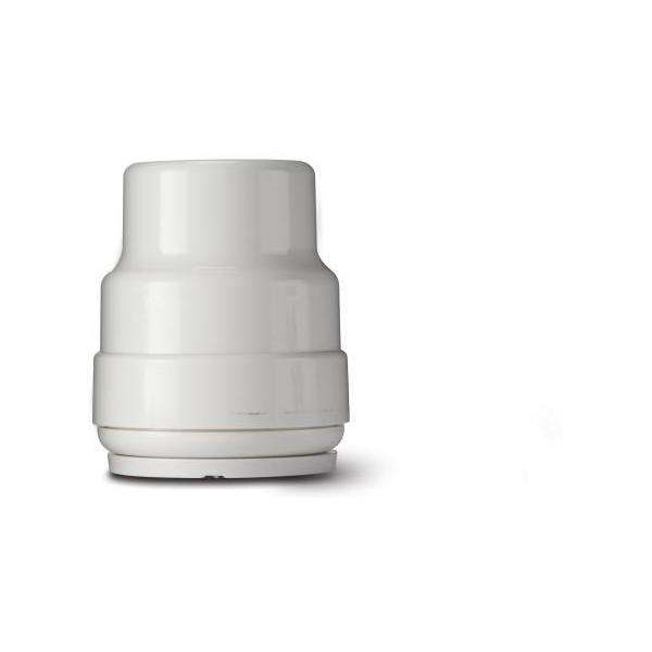 Polypipe 15mm Releasable Stop End White