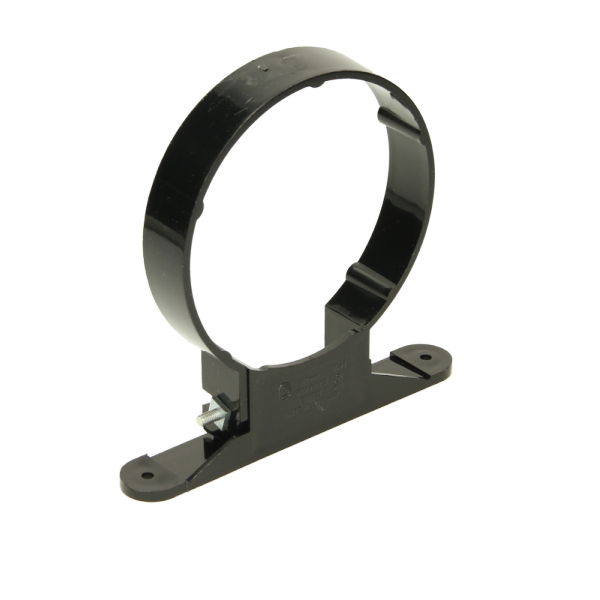 Polypipe Ring Seal Soil Pipe Clip 110mm Brown