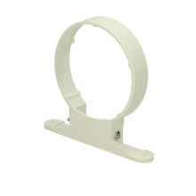 Polypipe Ring Seal Soil Pipe Clip 110mm White