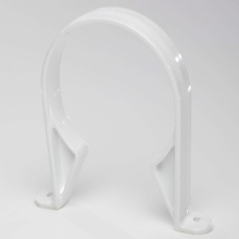 Polypipe Ring Seal Soil Pipe Saddle Clip 110mm White