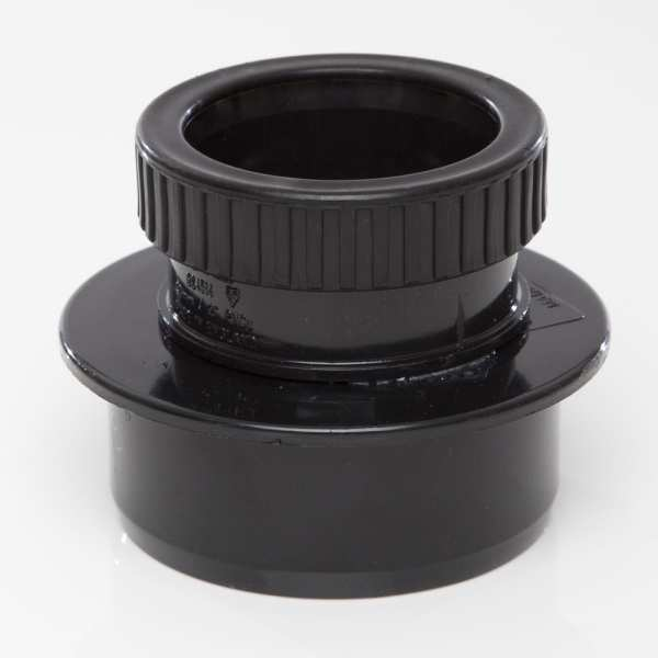 Polypipe Ring Seal Soil Reducer 82mm x 50mm Black