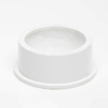 Polypipe Ring Seal Soil Solvent Boss Adaptor for 50mm Waste Pipe White