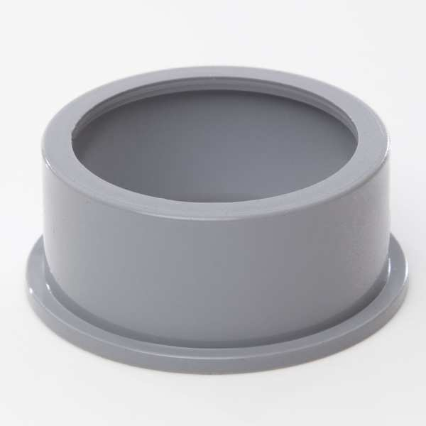Polypipe Ring Seal Soil Solvent Boss Adaptor for 50mm Waste Pipe Grey