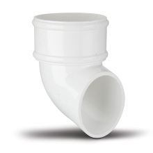 Polypipe Round Downpipe Shoe 68mm White