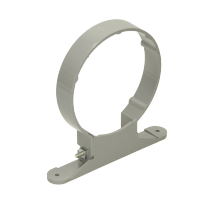 Polypipe Soil Pipe Bracket with Nut and Bolt 110mm Grey
