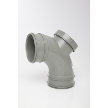 Polypipe Solvent Access Bend 110mm x 92.5 Degrees Grey