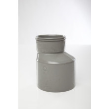 Polypipe Solvent Soil Reducer Single Socket 110mm x 82mm Grey
