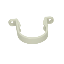 Polypipe Solvent Weld Waste ABS Pipe Clip 50mm White