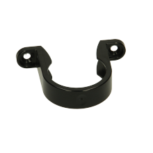 Polypipe Solvent Weld Waste ABS Pipe Clip 40mm Black