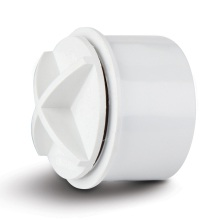 Polypipe Solvent Waste Screw Access Plug 40mm ABS White