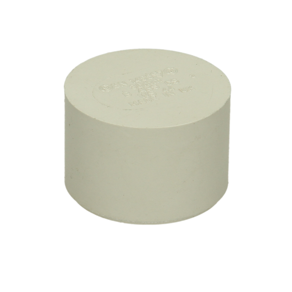 Polypipe Solvent Waste Socket Plug ABS White 32mm