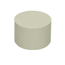 Polypipe Solvent Waste Socket Plug ABS White