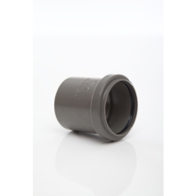 Polypipe Solvent Weld Waste ABS Spigot Bend 32mm x 45 Degrees Grey
