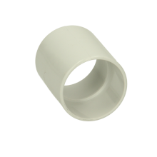Polypipe Solvent Weld Waste ABS Straight Coupling 32mm White