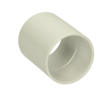 Polypipe Solvent Weld Waste ABS Straight Coupling 40mm White