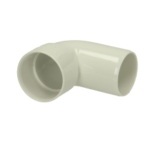 Polypipe Solvent Weld Waste ABS Swivel Bend 32mm x 92.5 Degrees White