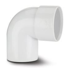 Polypipe Solvent Waste Swivel Bend 92.5 Degrees ABS White