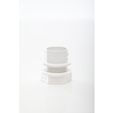 Polypipe Solvent Waste Tank Connector 32mm ABS White