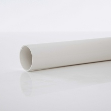 Polypipe Solvent Weld Waste MUPVC Pipe 50mm x 3m White