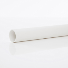 Polypipe Solvent Weld Waste MUPVC Pipe 40mm x 3m White