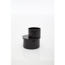 Polypipe Solvent Weld Waste ABS Reducer 50mm x 32mm Black