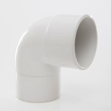 Polypipe Solvent Weld Waste ABS Swivel Elbow 50mm x 92.5 Degrees White
