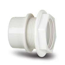 Polypipe Solvent Weld Waste ABS Tank Connector 40mm White