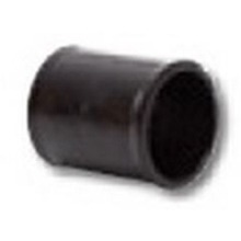 Polypipe Solvent Weld Waste MUPVC Straight Coupling 50mm Solvent Grey