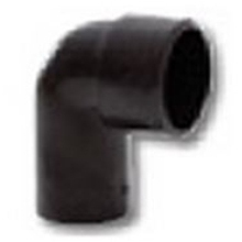 Polypipe Solvent Weld Waste MUPVC Conversion Bend 40mm x 90 Degrees Black