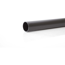 Polypipe Solvent Weld Waste MUPVC Pipe 50mm x 4m Black